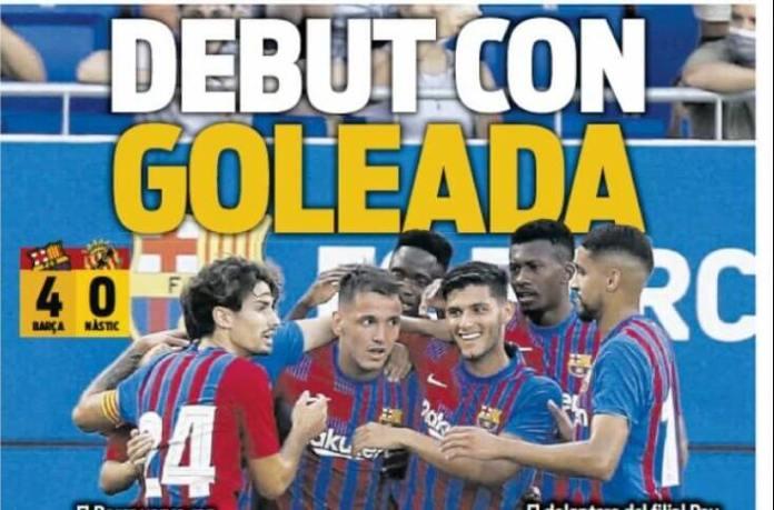 Portadas Diarios Deportivos Jueves 22/7/2021