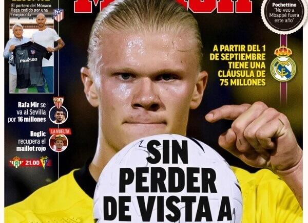 Portadas Diarios Deportivos Viernes 20/8/2021