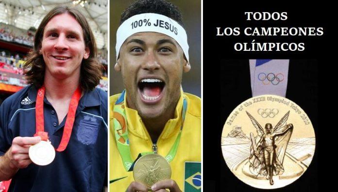 Todos los Campeones Olímpicos de Fútbol en la Historia