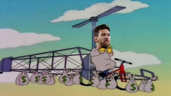 Messi se va del Barça y los Memes estallan en las redes