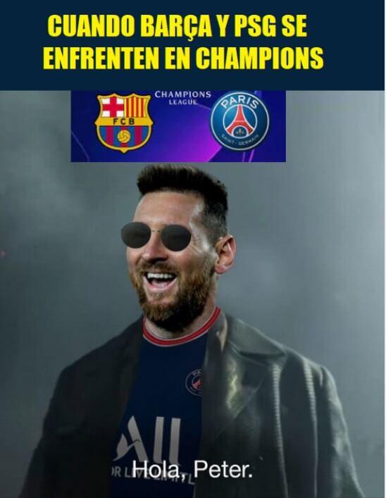 Memes Sorteo Champions 2021-22