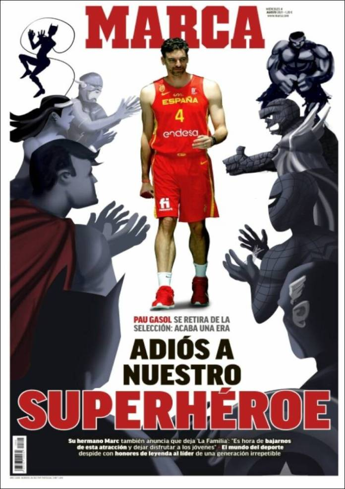 Portadas Diarios Deportivos Miércoles 4/8/2021