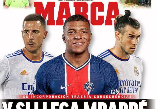Portadas Diarios Deportivos Sábado 21/8/2021
