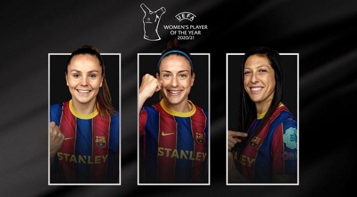 candidatas uefa best player femenino 2021