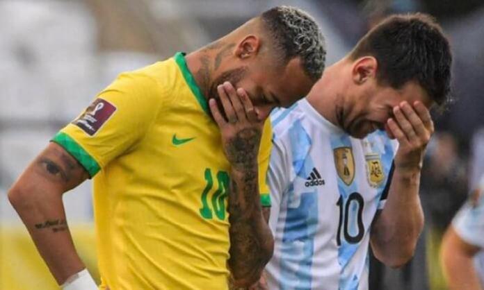 Ridículo histórico: suspendido Brasil-Argentina
