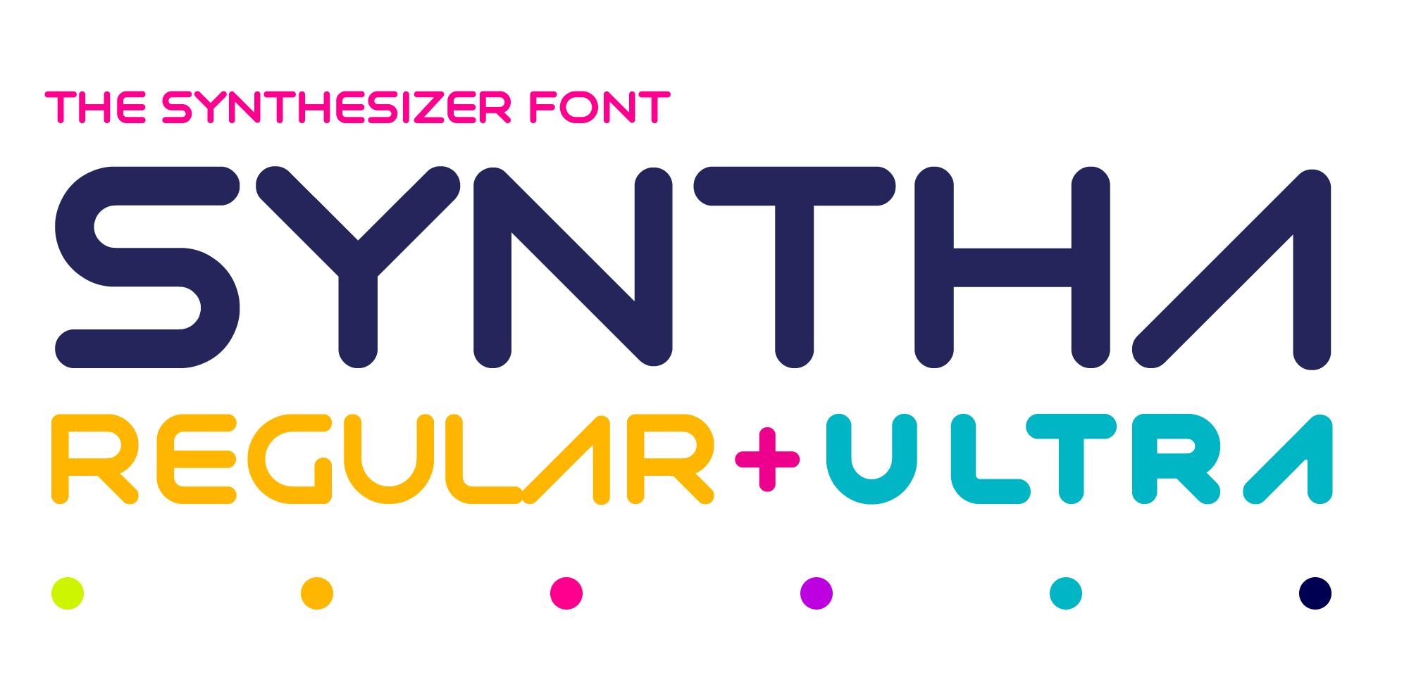 Syntha Font Main