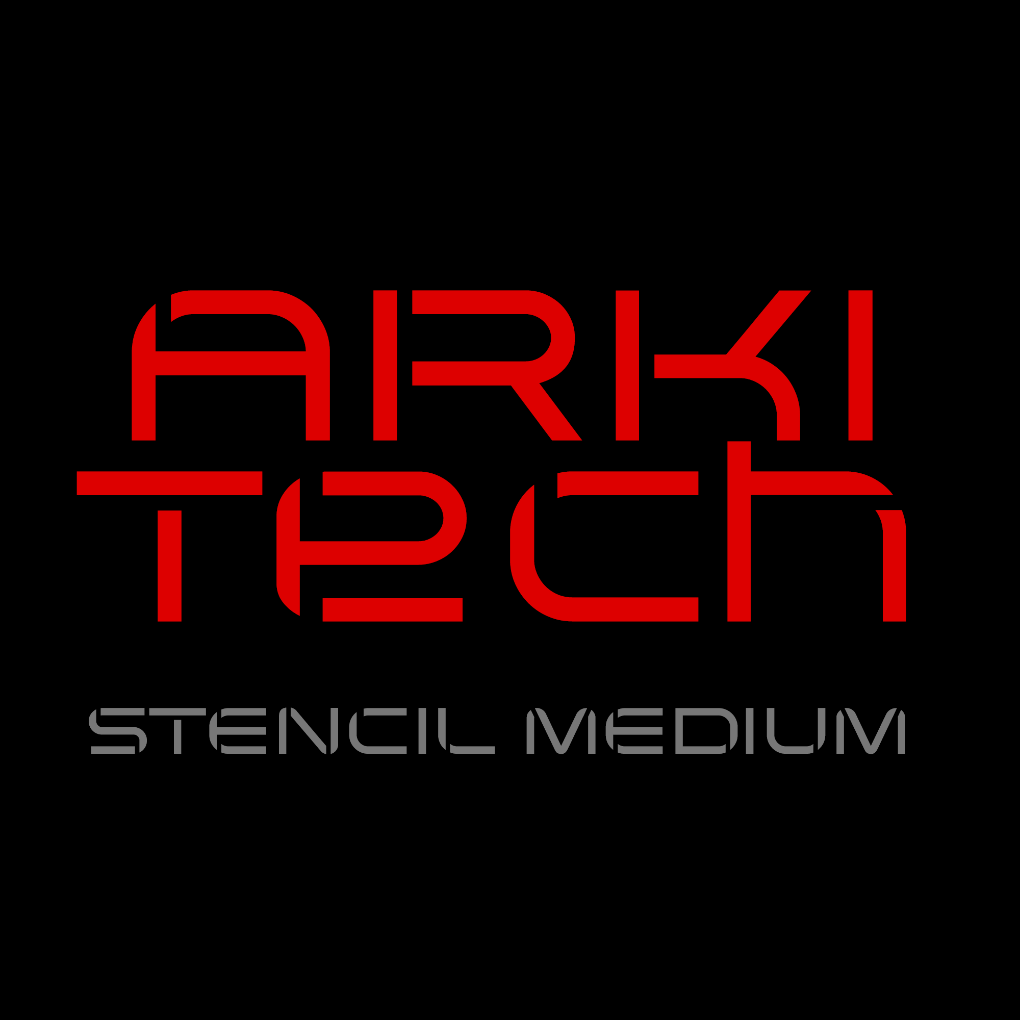 Arkitech Stencil Medium