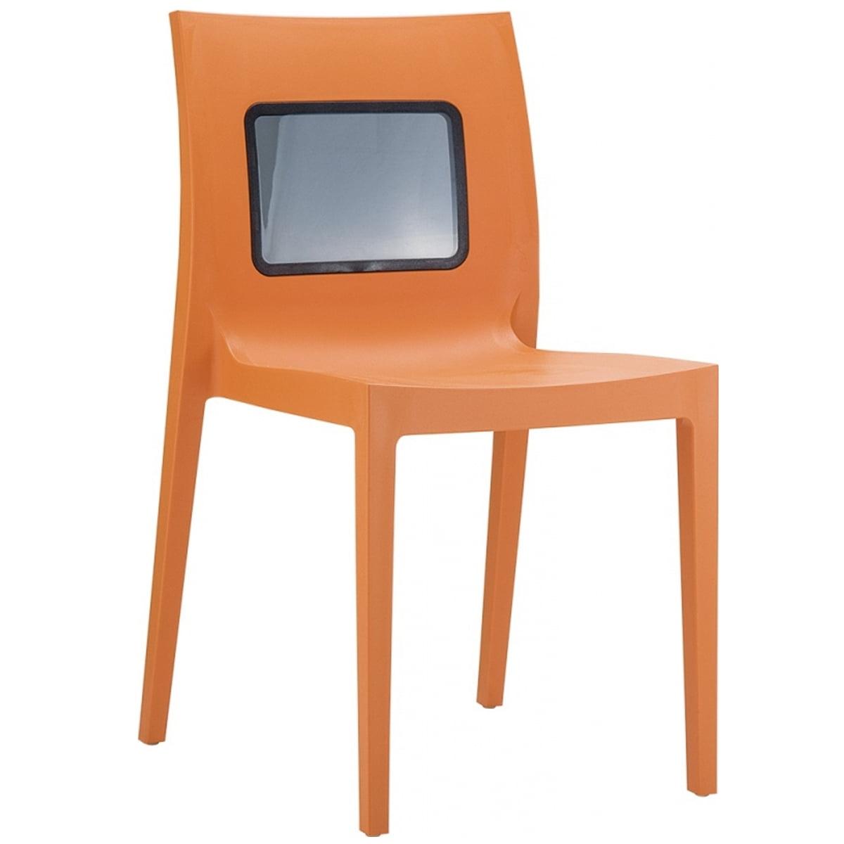 neo 200029e plastic polycarbonate patio chair