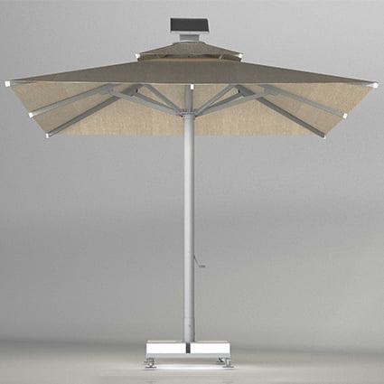 neo 600105e remote control umbrella led light crank system