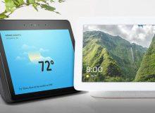 Así se compara el nuevo Google Home Hub con el Amazon Echo Show
