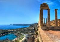 #Doric_Temple_Athena_Lindos. Rhodes island