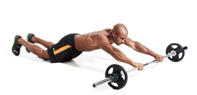 halter ile acma hareketi - Abdominal Exercises