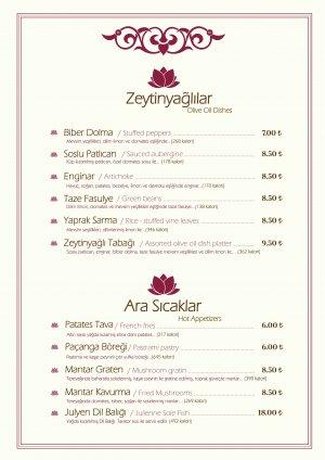 istanbul sosyal tesis menü ve fiyat listesi