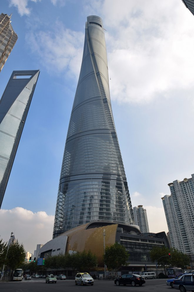 shanghai tower - 15 The World's Tallest Building