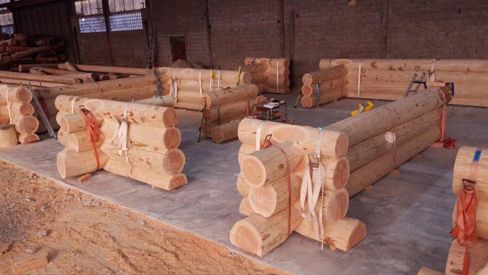 Nologis Construction Fuste Maison Bois Brut Poteau Poutre
