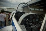 Piknik Lotniczy Krosno 2012 - Kokpit samolotu