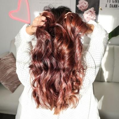 Summer Hair- Chocolate Mauve