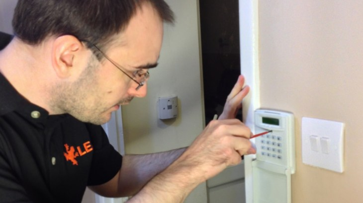 home alarm installation cost