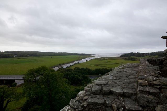 View From Cardoness Castle