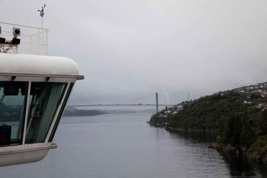 Approaching Bergen