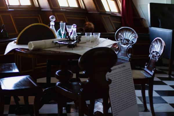 HMS Victory, Captain's Day Room