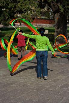 Ribbon Twirling