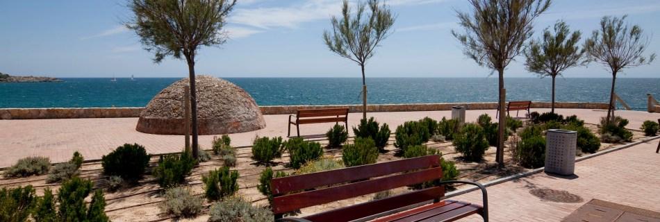 Salou - Bench And Sea