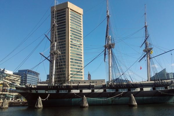 USS Constellation, Baltimore.