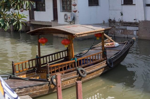 Zhujiajiao Boat