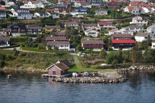 Approaching Stavanger
