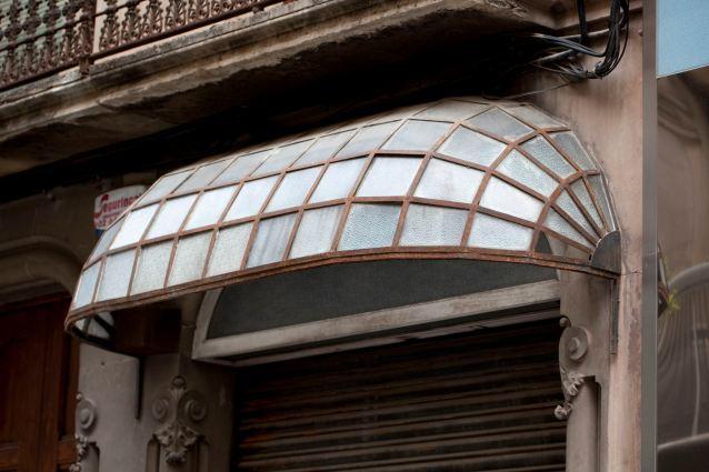 Art Nouveau Canopy