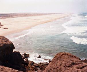Beach, Morocco