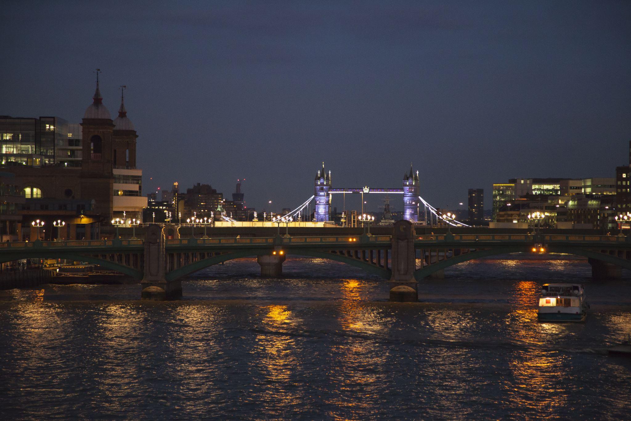 Tower Bridge, Night