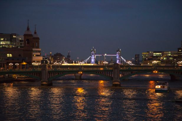 Tower Bridge, Night
