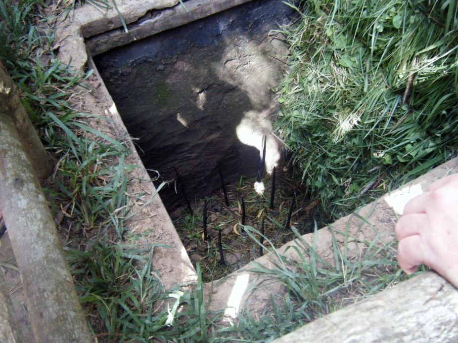Vietnam Jungle Spike Pit