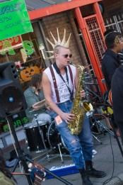 Punk Saxophonist