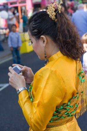 Checking The Camera