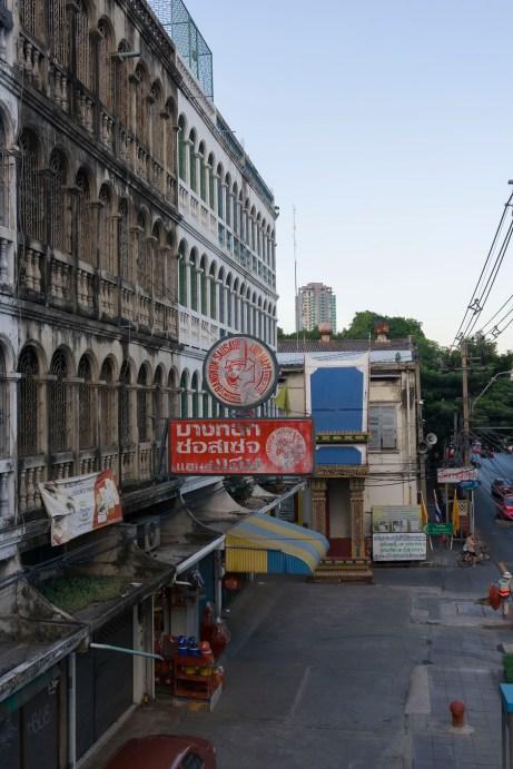 Bridge Over Charoen Krung Road
