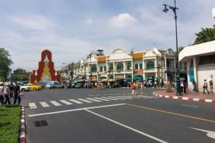 Bangkok Road Walk