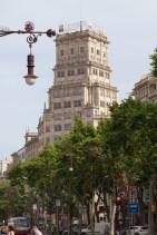 Passeig de Gràcia Architecture