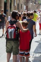 Barcelona Streets, People