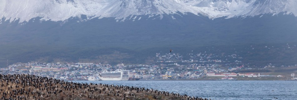 Beagle Channel, Star Princess, Ushuaia