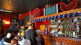 Inside Globe Tavern, Stanley