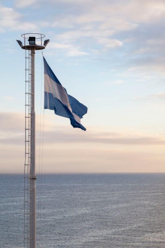Argentinian Flag, Sunrise