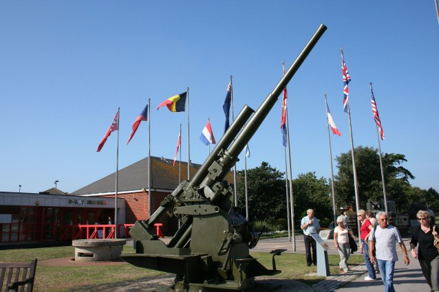 Southsea, D-Day Museum, 2006