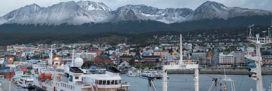 Ushuaia From Star Princess