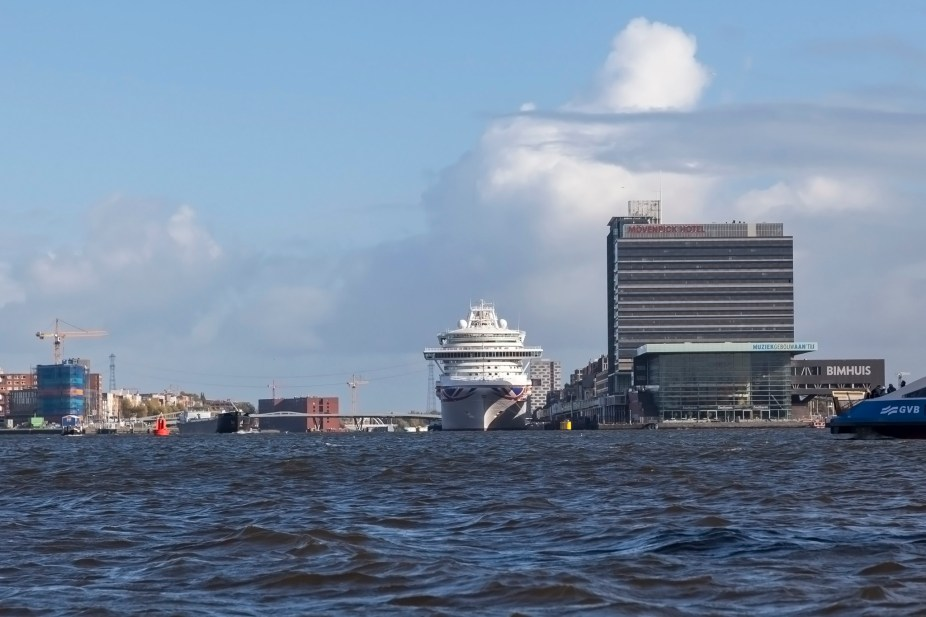 Cruise Ship Azura, Amsterdam