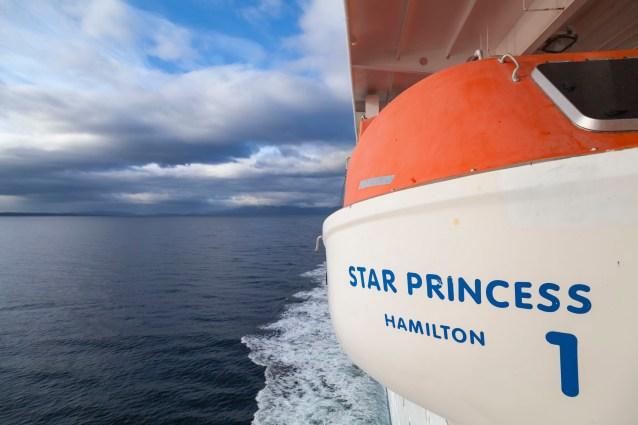 Star Princess, Chile