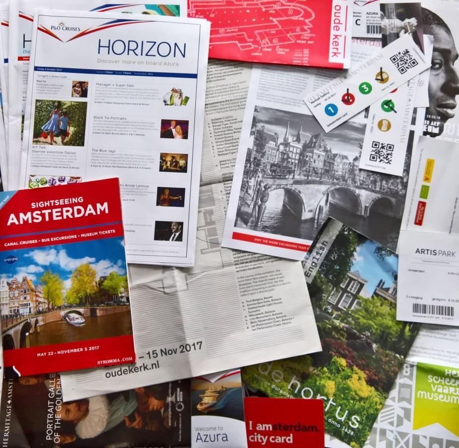 Azura Amsterdam Cruise Trip