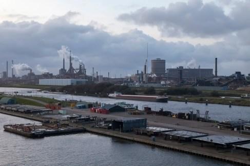 Approaching IJmuiden